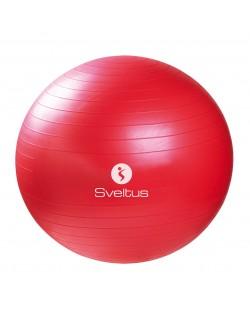 Piłka do ćwiczeń 65cm (czerwona), Sveltus