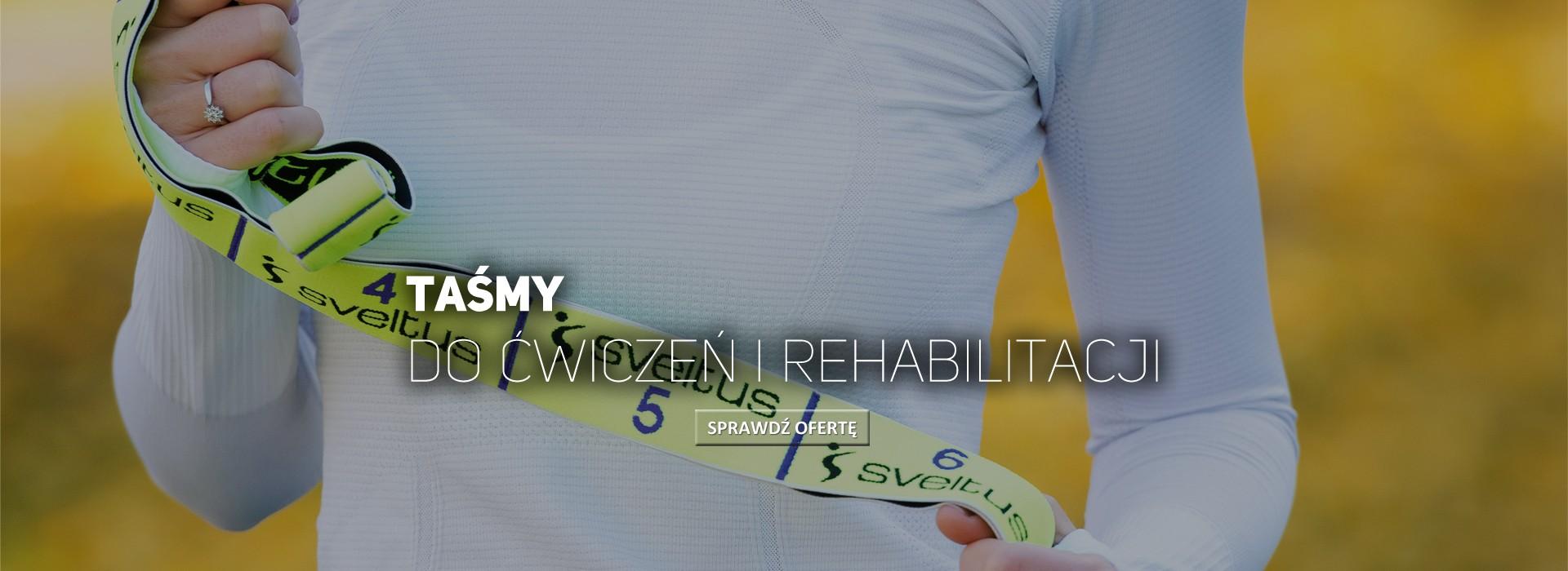 Taśmy do ćwiczeń i rehabilitacji
