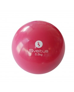 Piłka fitness z obciążeniem 500 gr