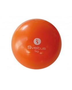 Piłka z obciążeniem 1 kg Sveltus
