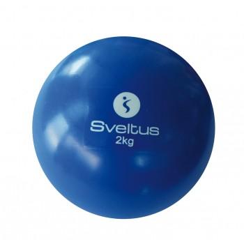 Piłka z obciążeniem 2 kg Sveltus