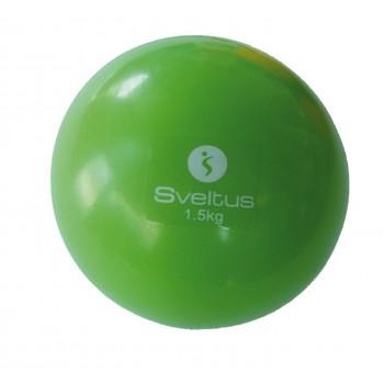 Piłka z obciążeniem 1,5 kg Sveltus