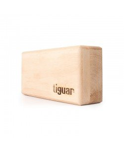Kostka do jogi drewniana, TIGUAR