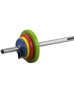 Sztanga Fitness - zestaw 16 kg Sveltus